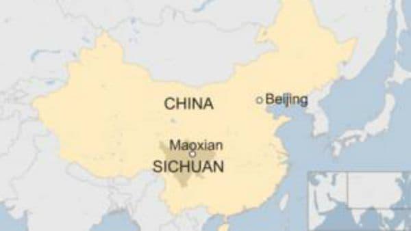 Deslave en China deja un centener de persona atrapadas