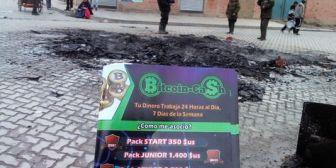 La Paz. Aprehenden a tres personas por el caso Bitcoin Cash