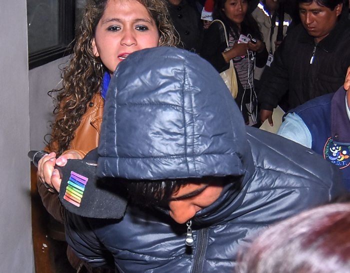 Con 17 años es jefe de pandilla y está acusado del asesinato de Cecilia en La Paz