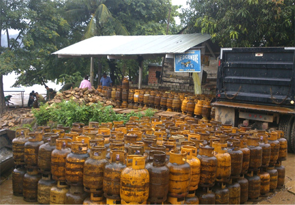 Resultado de imagen de combustible y GLP en Beni