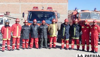 Resultado de imagen de Cuartel de Bomberos de la Policía en Tarija