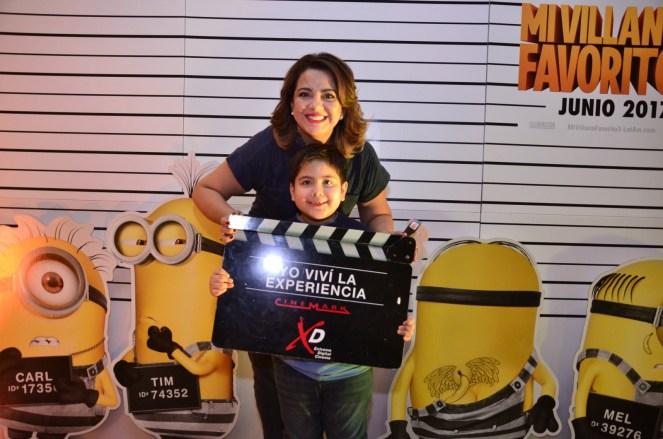 Cecilia Bellido y su hijo Rubén Dario