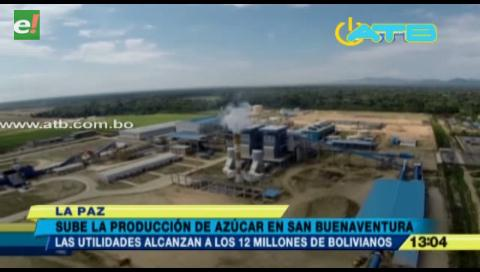 San Buenaventura garantiza producción de más de 186.000 quintales de azúcar