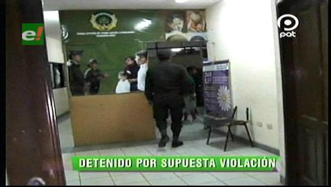 Felcv detiene a un presunto violador