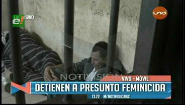 Rápida reacción de la Policía permite captura de feminicida