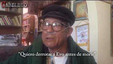 """Última entrevista a Filemón Escobar en Cabildeo: """"Quiero derrotar a Evo antes de morir"""""""