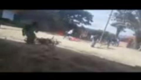 Ministro Cocarico es evacuado en helicóptero tras incidentes en Yungas