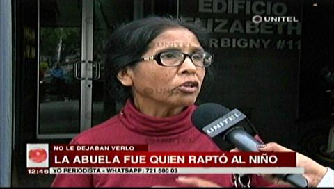 Abuela materna se llevó a menor denunciado como desaparecido