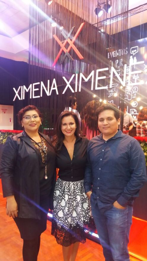Veronia Vi, Jimena Ximenez y Renzo Caballero