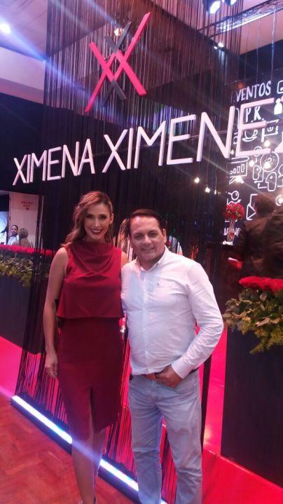 Desireé Durán y Miguel Ángel Cuellar