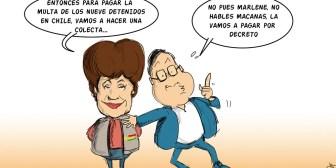 Caricaturas de Bolivia del domingo 25 de junio de 2017