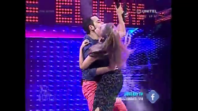 """El baile de Grisel Quiroga y Ronico Cuéllar, """"la mejor dupla de la Red Unitel"""""""