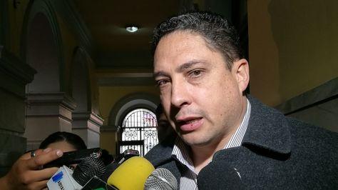 El ministro de Justicia, Héctor Arce. Foto archivo: ABI