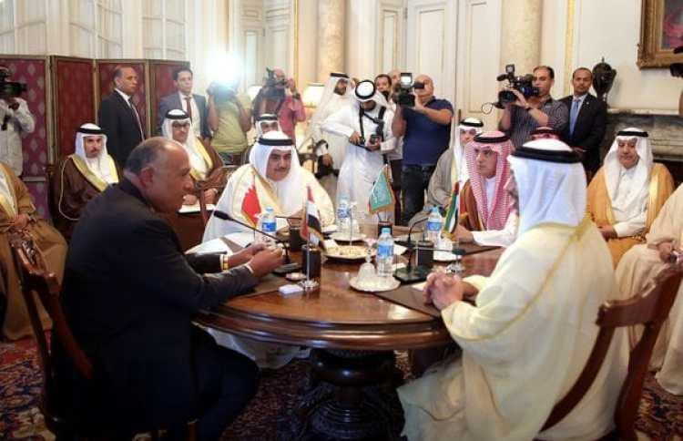 La reunión de los cancilleres en El Cairo (Reuters)