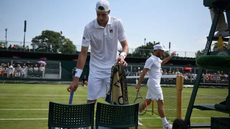 Sela se quedó con la victoria por la segunda ronda de Wimbledon