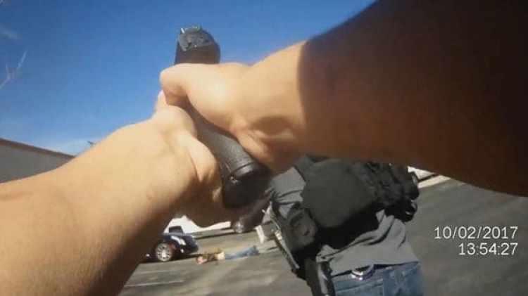 El ladrón, tras ser alcanzado por un disparo, quedó tendido