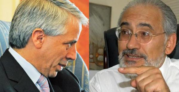 El vicepresidente Álvaro García Linera recordó la lucha del pueblo y el expresidente Carlos Mesa recordó las política de Gonzalo Sánchez de Lozada
