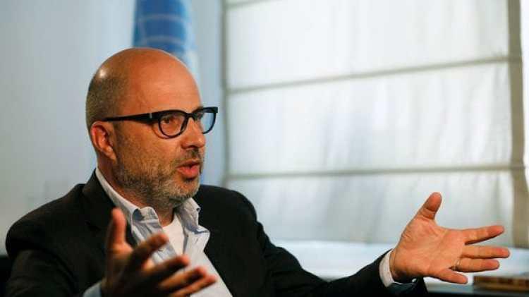 Robert Piper, coordinador de ayuda humanitaria de la ONU en Gaza y Cisjordania (Reuters)