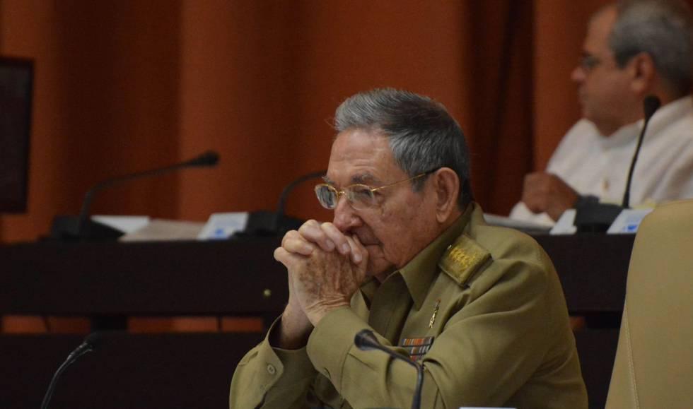 Raul Castro, en la Asamblea Nacional.