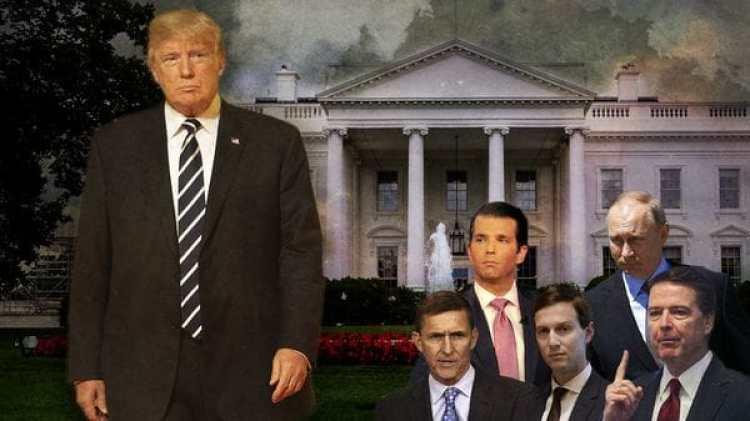 Donald Trump, acosado por las revelaciones sobre la injerencia rusa en las elecciones