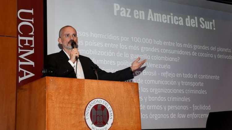 Marcus Reis, experto brasileño en terrorismo y contrainsurgencia (Nicolas Stulberg)
