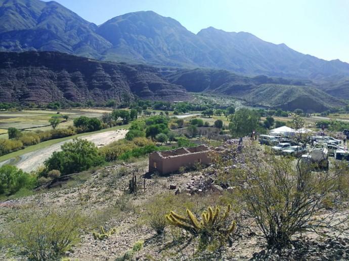 FRONTERA. Vista de la frontera de la provincia Sud Cinti con Tarija.