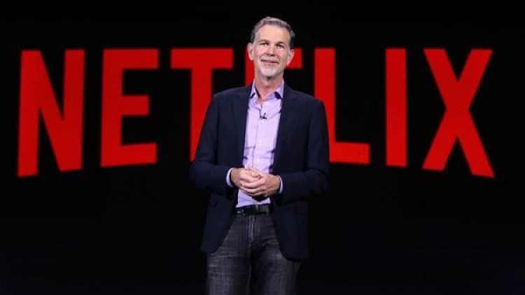 Reed Hastings, cofundador y director ejecutivo del gigante del streaming que cambió las reglas de la industria del entretenimiento.