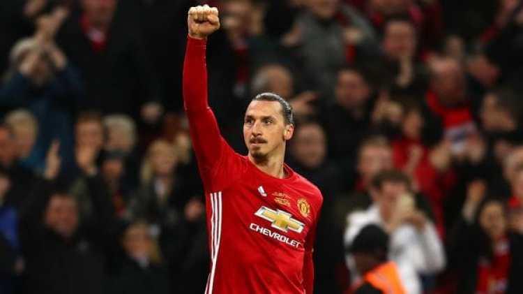 Ibrahimovic podría volver al Manchester United (Getty)