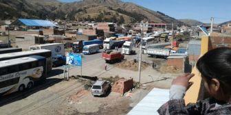 Campesinos de Cochabamba deciden apoyar a cocaleros y ampliar el bloqueo de Colomi a otras zonas