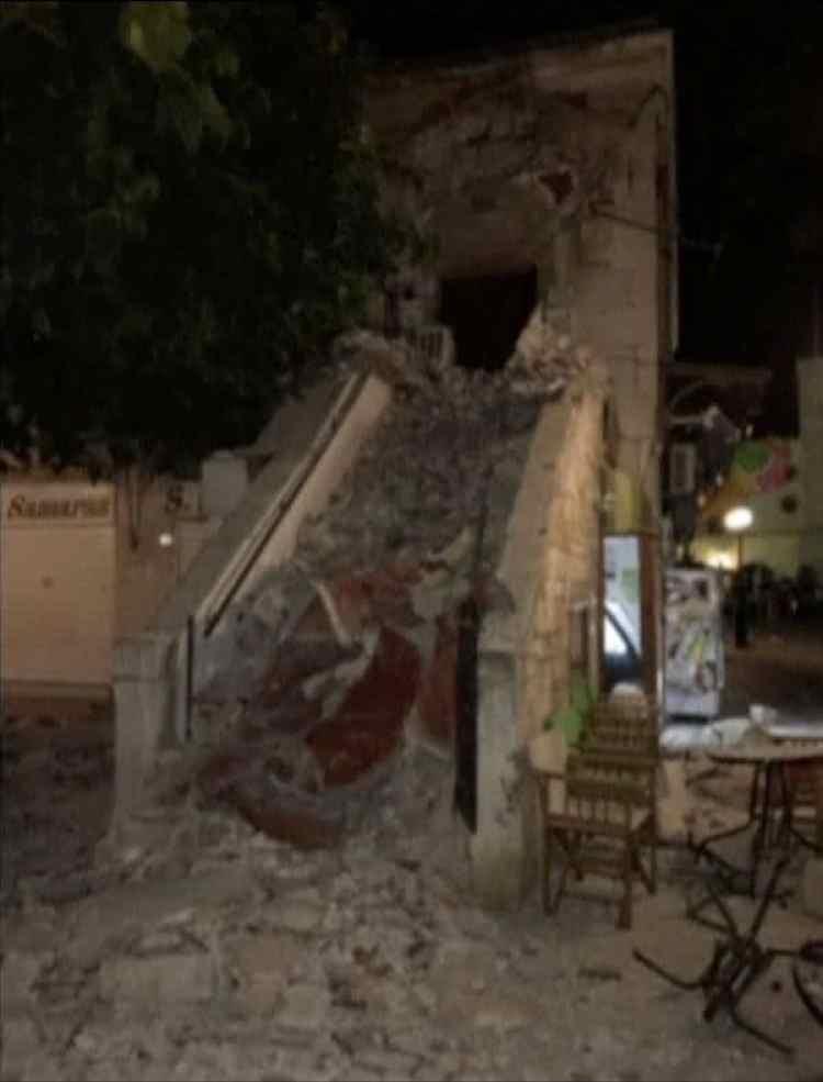 Daños ocasionados por el terremoto en la isla de Kos (Reuters)