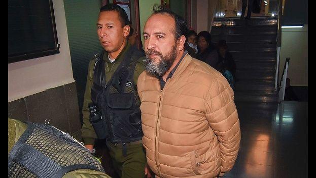 Envían al penal de Patacamaya a Portocarrero, exgerente de Bolivia Tv