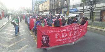 Fabriles de La Paz denuncian injerencia sindical del gobernante MAS