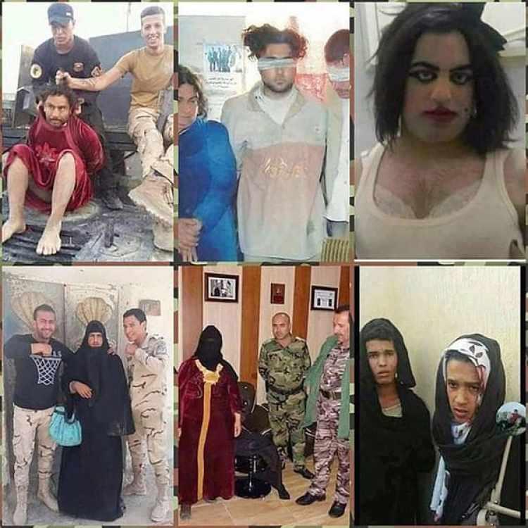Otros casos de terroristas disfrazados para escapar