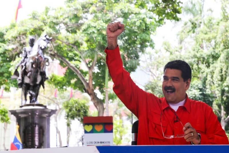 Maduro, durante la emisión de su programa.