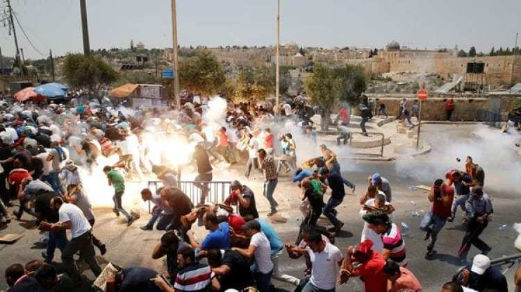 En los últimos días se registraron choques entre musulmanes y los cuerpos de seguridad israelíes (Reuters)