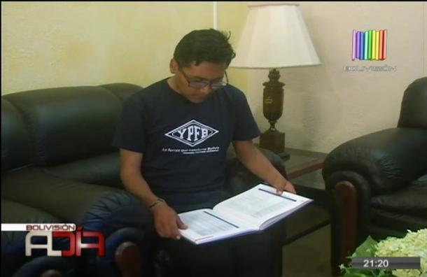 YPFB apoyará a Luis Javier Quispe