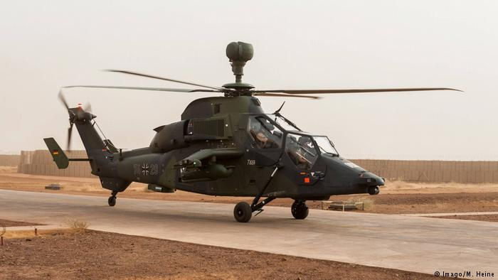 Mali Bundeswehr Tiger Kampfhelikopter (Imago/M. Heine)