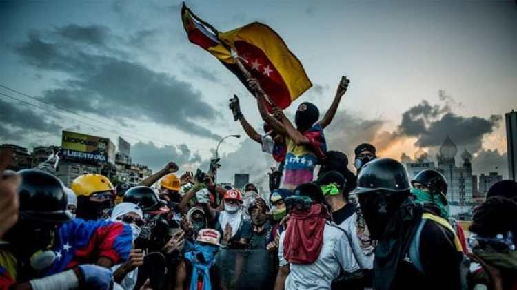 Los venezolanos rechazan la Constituyente que pretende imponer Nicolás Maduro (Meridith Kohut for The New York Times)