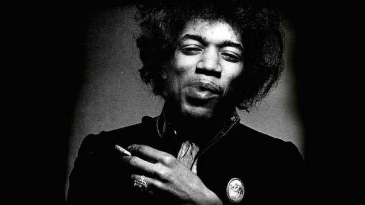 Jimi Hendrix en una fotografía de archivo (Pixabay)