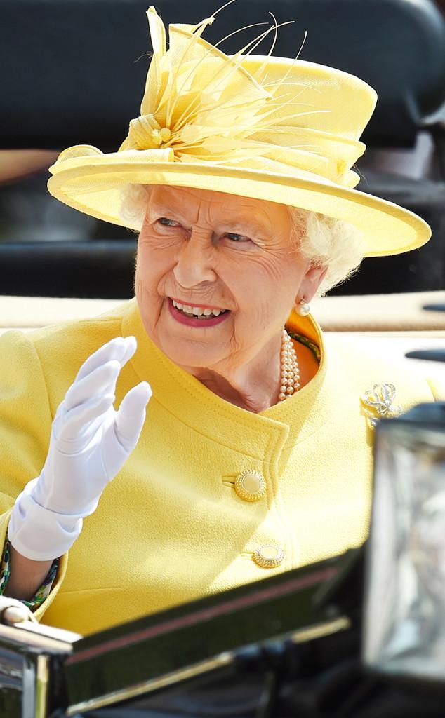 ESC: Royal Ascot Hats, Queen Elizabeth II