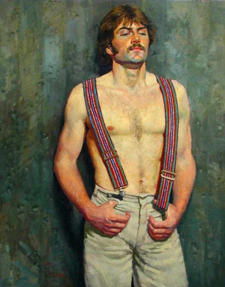 Retrato de Steven en los años 70