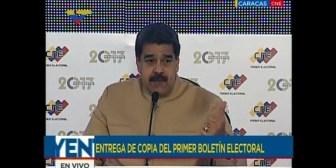"""""""Se me sanciona porque no muevo la colita y no soy un perro echado"""", responde Maduro a las sanciones de EE.UU."""