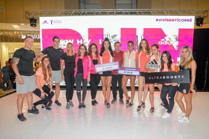 Geraldine Grego, Lorena Calvo, Lore Maestro, Katya Fuertes, Fer López, Belen Vidal y Árisla Cabalcante junto a los Embajadores adidas.jpg