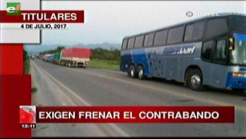 Video titulares de noticias de TV – Bolivia, mediodía del martes 4 de julio de 2017