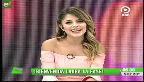 Laura La Faye en su mejor momento profesional
