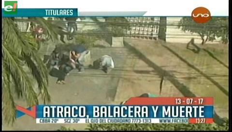 Video titulares de noticias de TV – Bolivia, mediodía del jueves 13 de julio de 2017