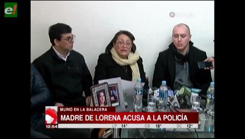 """Madre de Ana Lorena: """"Se valoró más lo material que la vida de mi hija"""""""