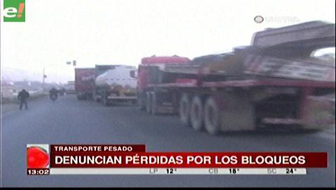Transporte Pesado denuncia pérdidas al sector