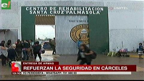 Entregan equipos de seguridad para penales de Santa Cruz, La Paz y Cochabamba