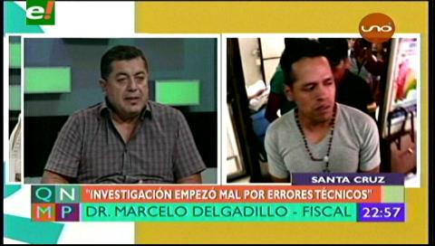 """Fiscal Delgadillo atribuye a cadena de """"errores técnicos"""" la condena a un inocente"""